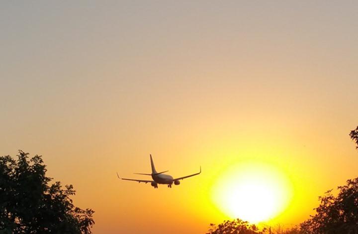 انطلاق أول رحلة طيران خارجية بوقود