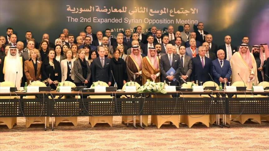 المعارضة السورية تنتخب نصر الحريري منسقًا عامًا للجنة التفاوض