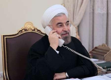روحاني: ايران ستبقى الى جانب سوريا حكومة وشعبا في عملية مكافحة الارهاب