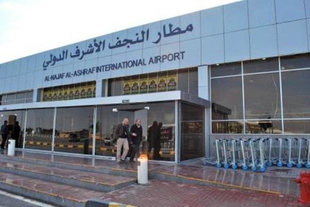 توقف رحلات الزوار الايرانيين الى مطار النجف