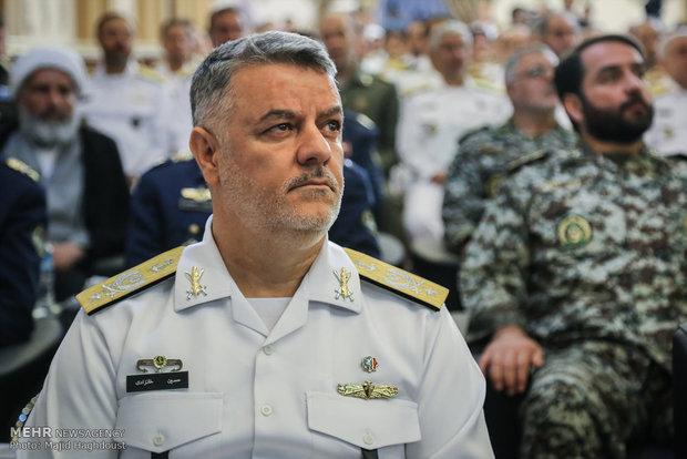 قائد القوة البحرية: تواجد ايران في البحر المتوسط يرعب الكيان الصهيوني