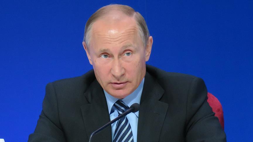بوتين يؤكد دعم حق الشعب الفلسطيني تقرير مصيره