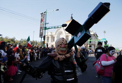 احتفالات الزومبى فى المكسيك