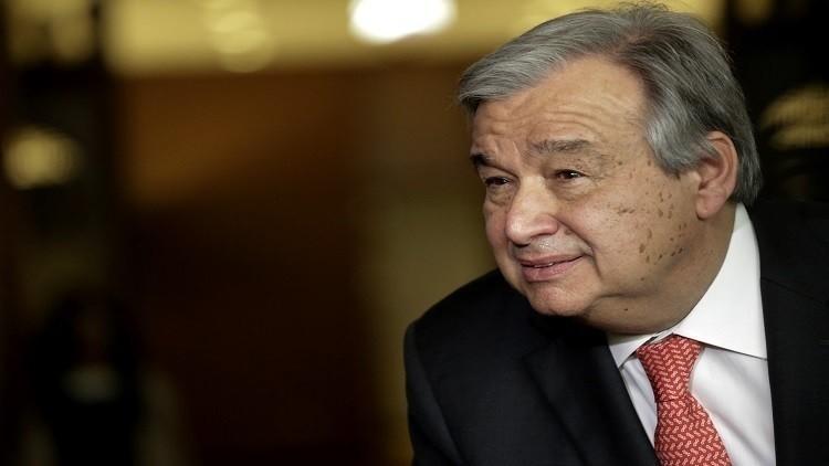 الأمين العام للأمم المتحدة يدعو إلى الحفاظ على الاستقرار فى لبنان