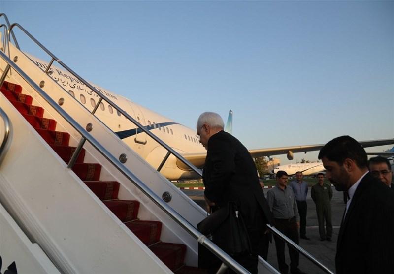 ظريف يغادر الى طاجيكستان