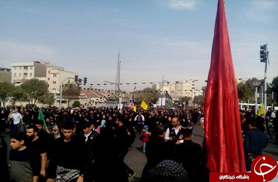 مسيرة أربعينيّة في طهران باتجاه حرم الشاه عبد العظيم الحسني