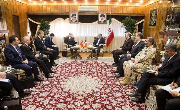 مباحثات ايرانية تركية لتنفيذ الاتفاق الامني بين البلدين