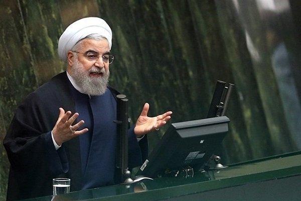 روحاني يدعو السعودية الى قطع علاقاتها مع اسرائيل ووقف قصف اليمن