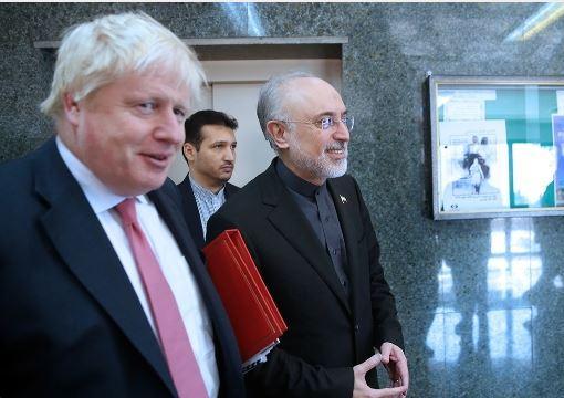 صالحي و جانسون یتحدثان عن الاتفاق النووي والعقبات المصرفية