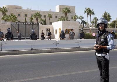 عمان تغیر اسم شارع السفارة الامريكية ب