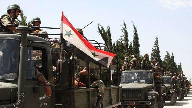 الجيش السوري يزحف نحو إدلب