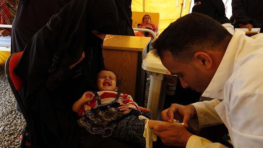 الأمم المتحدة: أكثر من 975 ألف حالة إصابة بالكوليرا في اليمن