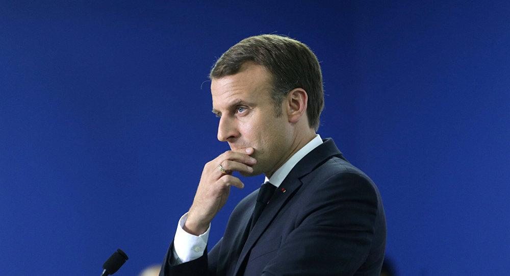 الرئيس الفرنسي: خروج أمريكا من اتفاقية باريس للمناخ عدائي