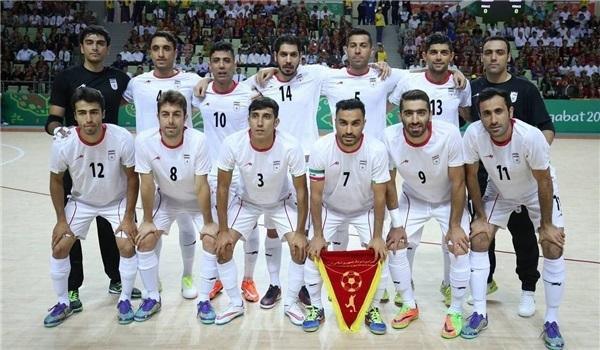ايران تواجه العراق والصين وميانمار بكأس آسيا لكرة الصالات 2018