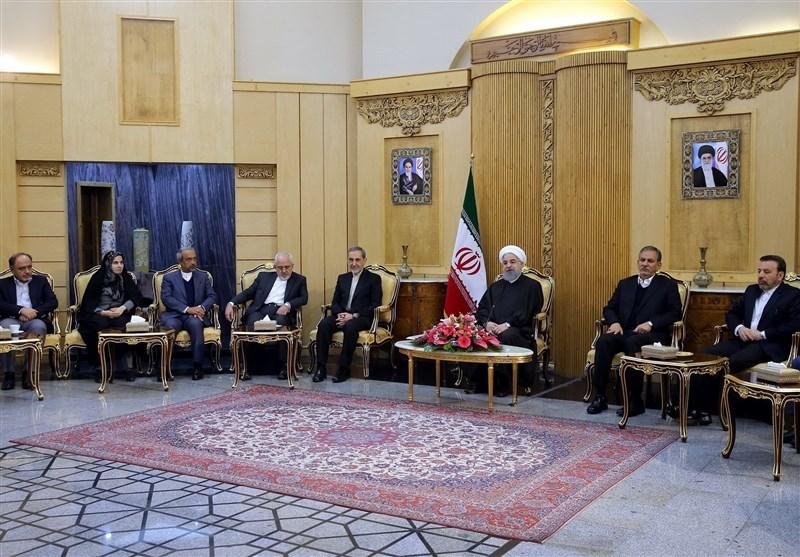 الرئيس الايراني: القدس ستبقى عاصمة لفلسطين