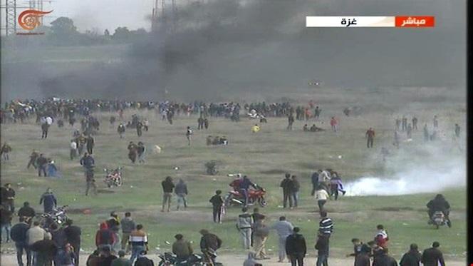 جمعة الغضب 888 إصابة و4 شهداء في الضفة وغزة بالغاز السام والرصاص الحي