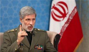 وزير الدفاع الايراني يؤكد علي تعزيز البنية الدفاعية للبلاد