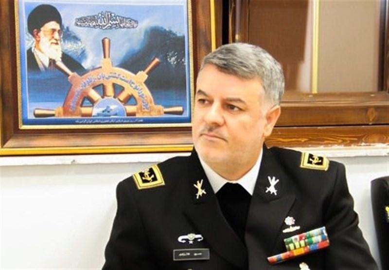 الاميرال خانزادي: القوة البحرية تتواجد بشكل مستمر في المياه الحرة الدولية