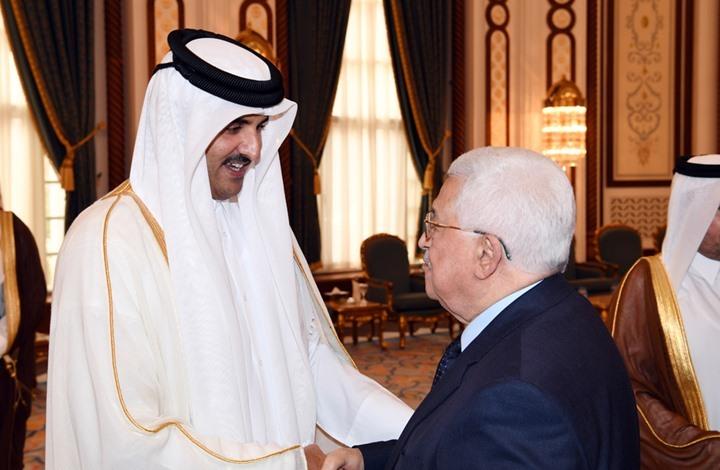عباس يلتقي أمير قطر ويبحث معه تطورات ملف القدس