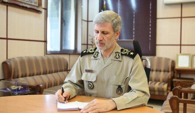 وزیر الدفاع:إیران تقدم شکوي للأمم المتحدة بشأن مزاعم