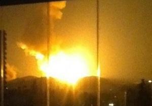 قصف إسرائيلي يستهدف قاعدة