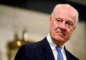 وكالة: دي ميستورا يشارك يوم الجمعة في محادثات السلام السورية بآستانة