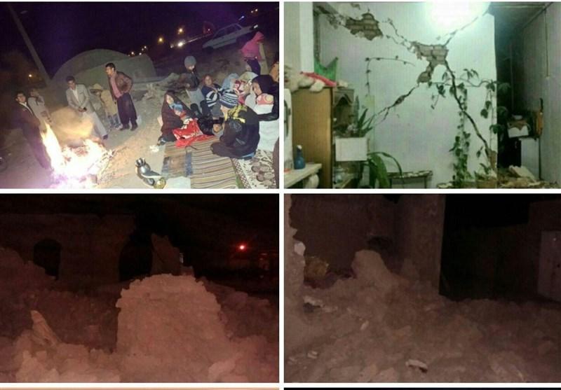 زلزال بقوة 5.2 درجات يضرب محافظة كرمان..اصابة 42 شخصاً