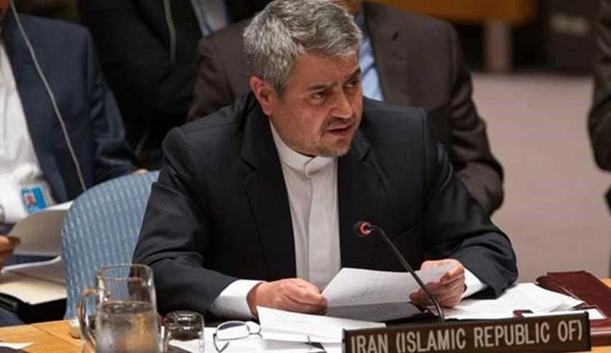 مندوب ايران في الامم المتحدة: الكيان الصهيوني اساس الازمات في الشرق الاوسط