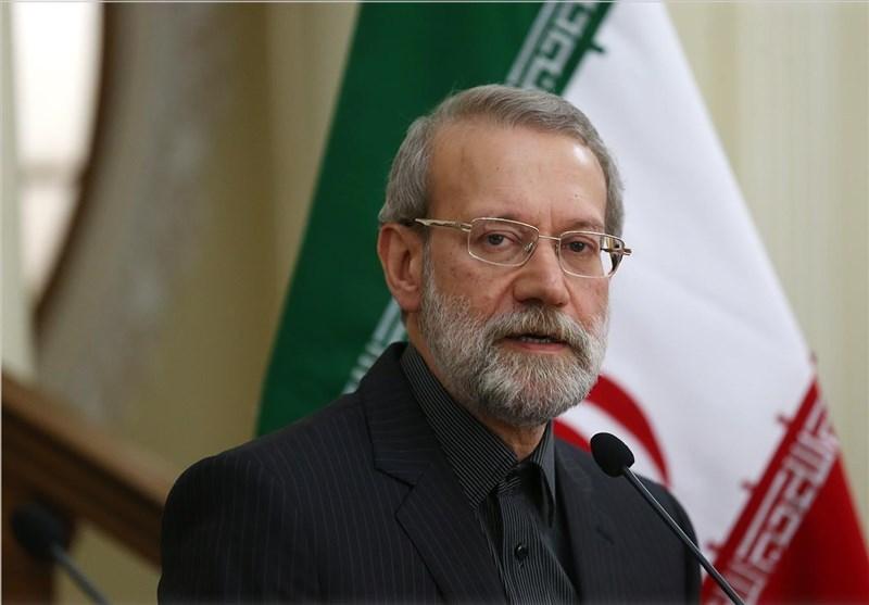 لاريجاني يؤكد على اتحاد بلدان المنطقة لهزيمة الارهاب