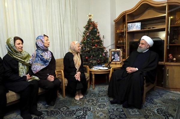 روحاني: جميع الاديان والاعراق يعيشون في ايران جنبا الى جنب
