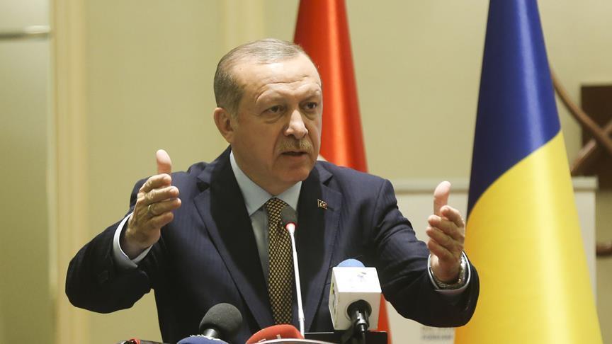 أردوغان: تركيا وتشاد ستقفان جبنًا إلى جنب في محاربة الإرهاب