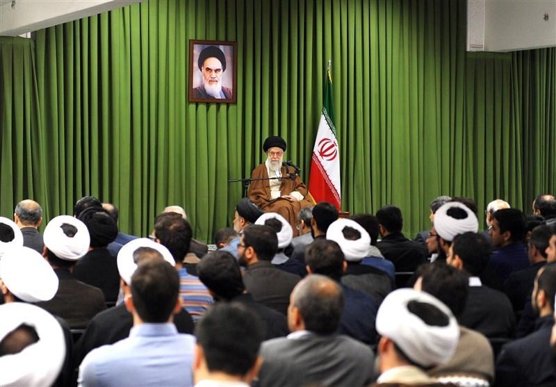 الامام الخامنئي يستقبل أعضاء المجلس التنسيقي للدعاية الإسلامية