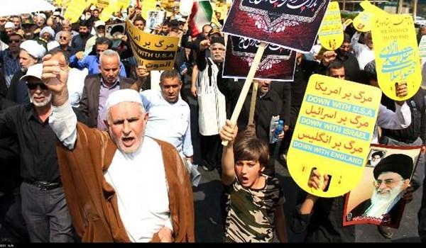 انطلاق مراسم 30 کانون الاول في جميع محافظات ايران