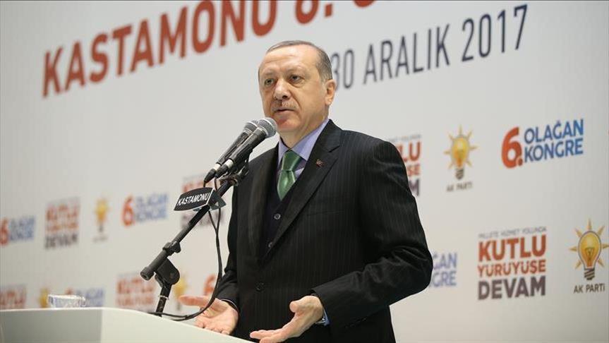 أردوغان: ما فعلناه ضد