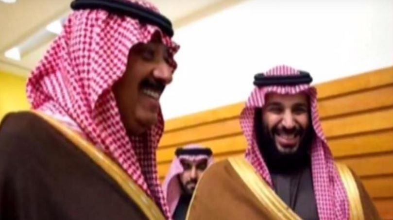 الأمير متعب يظهر بعد الإفراج عنه مع ابن سلمان