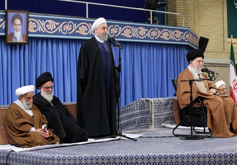 روحاني: الشعب الايراني لن يتحمل الاعتداء الصهيوني على المقدسات الاسلامية