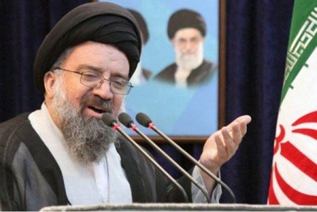 اية الله خاتمي: اجراء ترامب اثار احتجاج العالم باسره