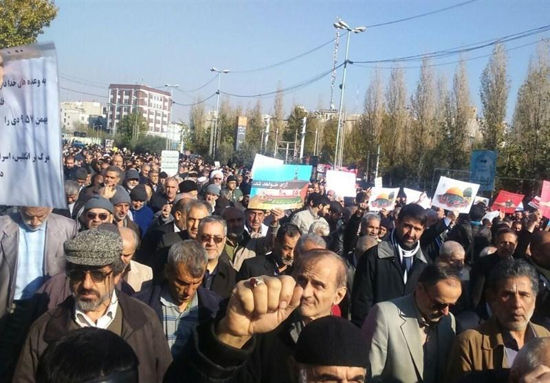 مظاهرات غاضبة في ايران تنديداً بقرار ترامب بشأن القدس