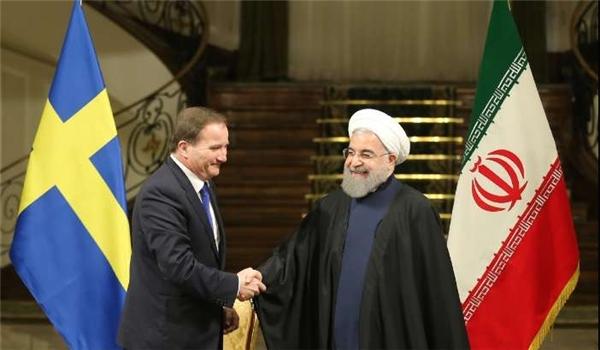 رئيس الوزراء السويدي يؤكد أهمية تطوير العلاقات مع ايران