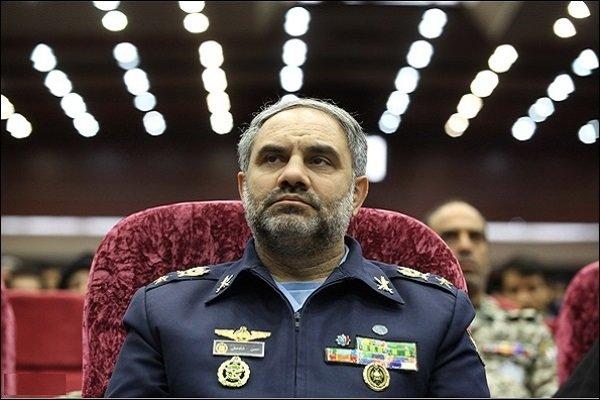 قائد القوة الجوية: ايران على استعداد لاجراء مناورات مشتركة مع دول المنطقة