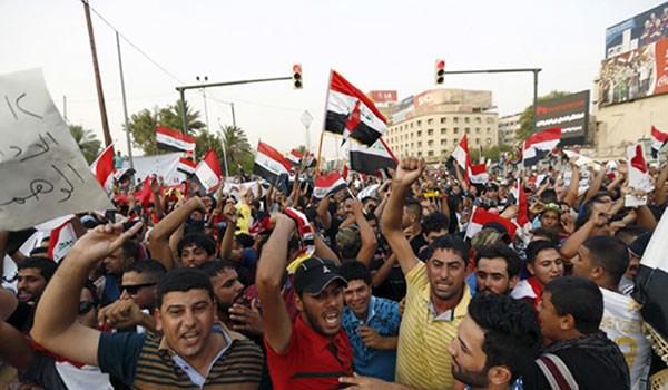 قتلى وجرحى جراء اشتباكات وسط تظاهرات في بغداد