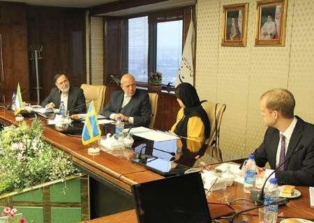 وزير الطاقة :ايران ترغب في الاستفادة من التكنولوجيا التي تتمتع بها السويد