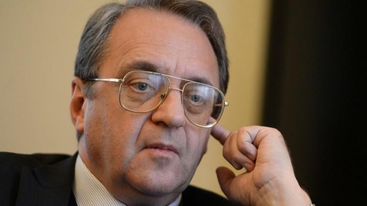 بوغدانوف: لقاء أستانا المقبل سيركز على تثبيت وقف إطلاق النار في سوريا