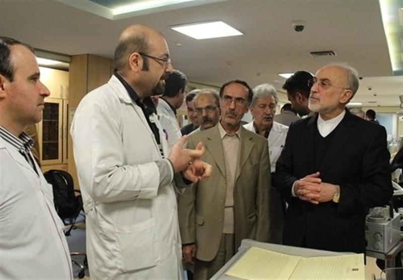 صالحي: إنشاء أكبر مستشفى نووي في الشرق الأوسط قريباً
