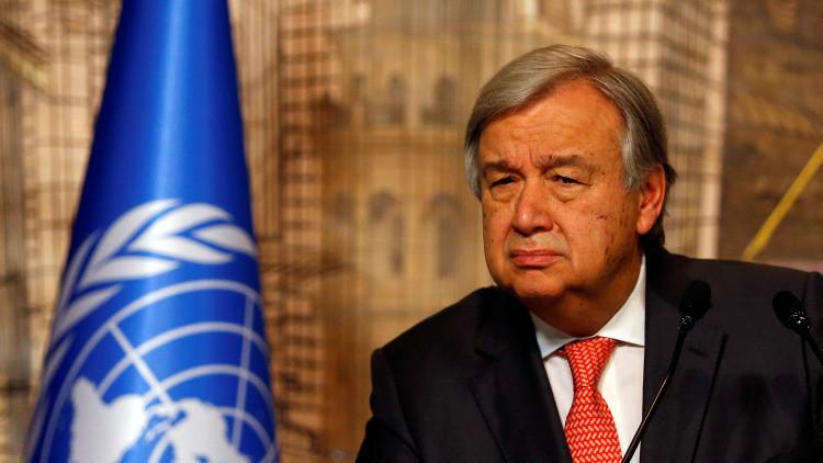 غوتيريش: حل أزمة سوريا سيفضي إلى نهاية