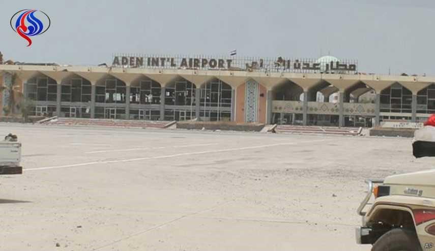 توقف الملاحة الجوية بمطار عدن جراء اشتباكات المسلحين