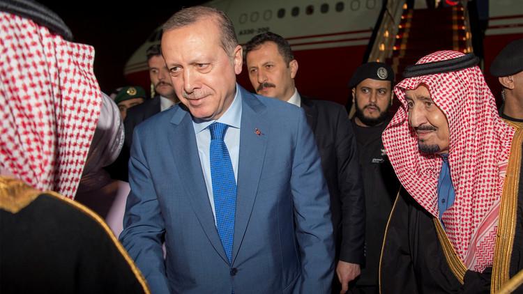 أردوغان يوجه رسالة إلى العالم الإسلامي من السعودية