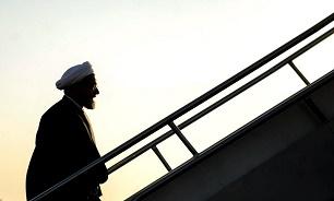 الرئيس روحاني يعود الى طهران في ختام جولة اقليمية لسلطنة عمان والكويت
