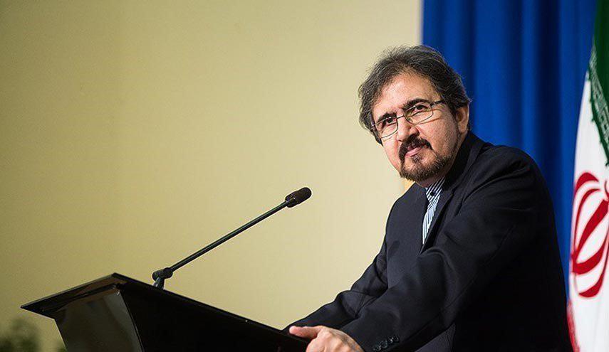 قاسمي: طهران ترفض اطلاقا بيان التدخل الاميركي في شؤونها