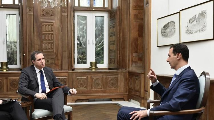 الأسد: لا يحق للغرب أن يختار بيني وبين